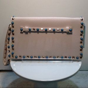 Studded clutch by Urban Expression NEW